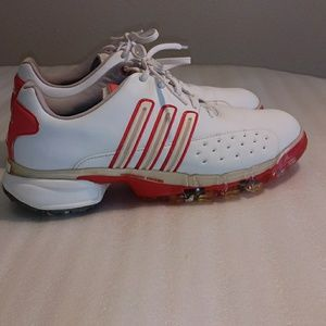 Adidas golf shoes powerbrand chassis size 9.5